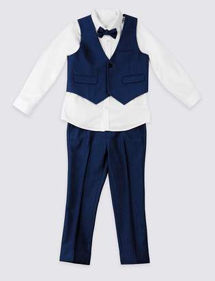 Marks and Spencer 4 Piece Suit Outfit (3 Months - 7 Years)