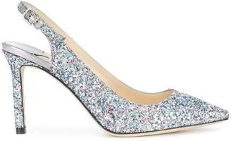 Jimmy Choo glittered Erin pumps