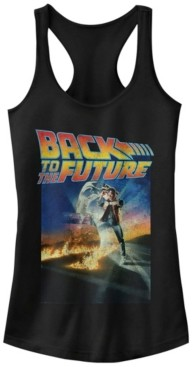 Fifth Sun Back To The Future Classic Poster Ideal Racer Back Tank