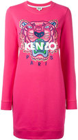 Kenzo Tiger sweatshirt dress - women - Cotton - XS