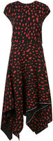Proenza Schouler patterned day dress - women - Silk - 2