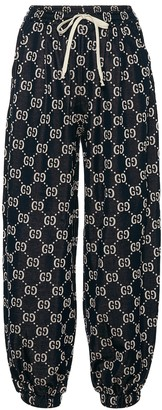 Gucci GG cotton-jersey trackpants