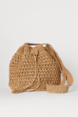H&M Straw Bucket Bag