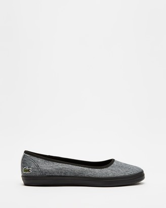Lacoste Women's Grey Ballet Flats - Ziane Ballet - Size 4 at The Iconic