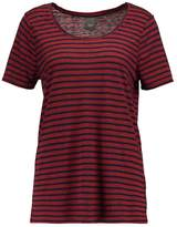 Ichi JASMIN Print Tshirt fiery red