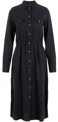 Pieces Nola Midi Shirt Dress - Large