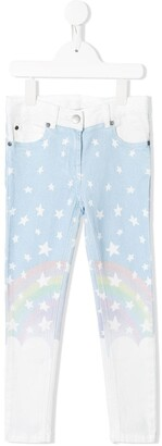 Stella Mccartney Kids Magic Rainbow jeans