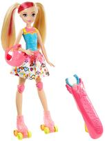 Barbie Video Game Hero Light-up Skates Doll