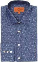 Simon Carter Jacquard Flower Shirt