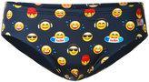 MC2 Saint Barth emoticon print swim trunks - men - Polyamide/Polyester/Spandex/Elastane - S