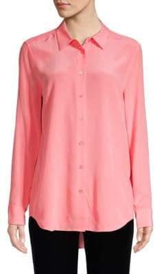 Equipment Lemon Zest Silk Button-Down Shirt