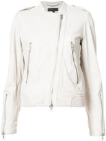 Rag & Bone off-centre zip jacket