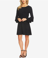 CeCe Tiered Bell-Sleeve Dress
