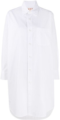 Marni Oversize Button-Up Shirt