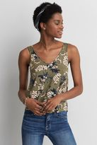 American Eagle Outfitters AE Bar Back V-Neck Tank