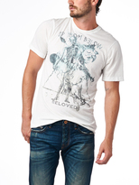 Cult of Individuality Beloved Tee In White