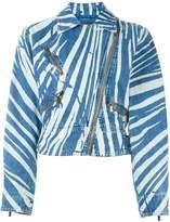 Roberto Cavalli 'Zebra perfecto' jacket
