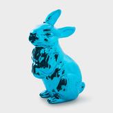Paul Smith Metallic Blue Ceramic Rabbit