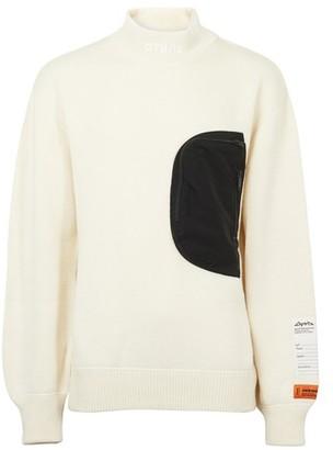Heron Preston Mock-Pocket sweater