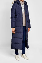 Canada Goose Quilted Down Parka with Fur-Trimmed Hood