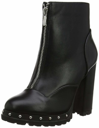 Lost Ink Women's Jin Stud Outsole Cleat Boot Ankle