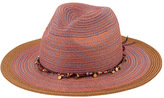 San Diego Hat Company Women's Mixed Braid Fedora MXM1023