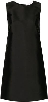 Carolina Herrera Sleeveless Shift Mini Dress