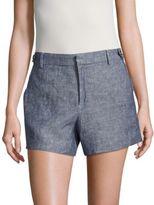 Lord & Taylor Kelly Linen Shorts