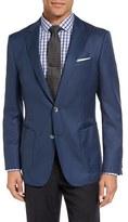 BOSS Men's Nordan Trim Fit Wool Blazer