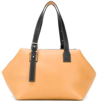 Loewe Cube Bicolor Shoulder Bag