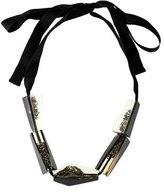 Marni Sliding Bead Ribbon Necklace
