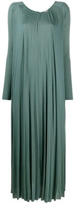 Max Mara Dolores pleated dress