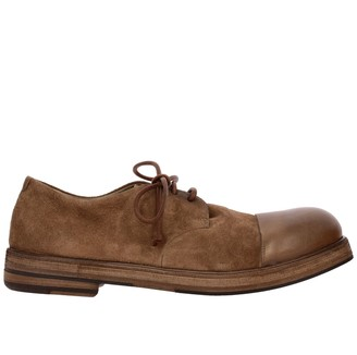 Marsèll Zucca Derby Shoes In Suede Leather