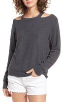 LnA Women's Bolero Cutout Sweatshirt