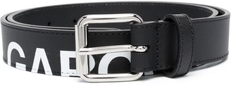 Comme des Garcons Logo-Print Belt