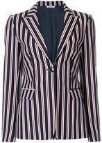 P.A.R.O.S.H. striped fitted blazer