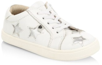 Old Soles Baby's, Little Girl's & Girl's Starry Leather Sneakers