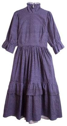 Meadows Navy Clematis Dress - 10