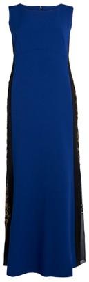 Marina Rinaldi Sleeveless Maxi Gown