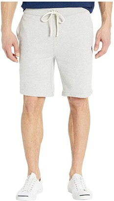 Polo Ralph Lauren Relaxed Fleece Shorts (White) Men's Shorts