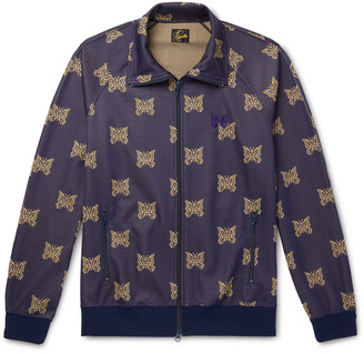 Needles Tech-jersey Jacquard Track Jacket - Purple