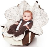 Wallaboo Baby Blanket with Durable Faux Suede and 100% Printed Pure Cotton
