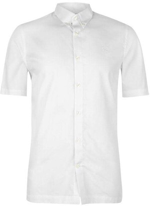 Fred Perry Fred Mens Short Sleeved Cotton Twill Shirt