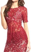 Tart Collections Lace Red Top