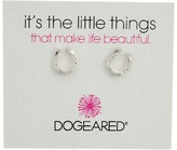 Dogeared It's The Little Things: Horseshoe Earrings Earring