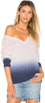 Feel The Piece Catalina Ombre Sweater in Blue.