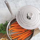 Le Creuset Stainless Steel Sauté Pan, 3 qt.