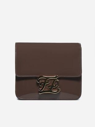 Fendi FF Karligraphy Crossbody Bag