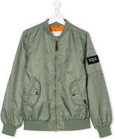 Molo TEEN zipped bomber jacket