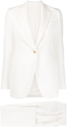 Tagliatore Fitted Evening Suit
